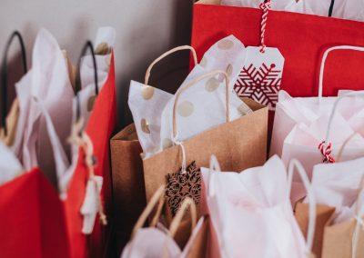 Produkter från presentkort till anställda