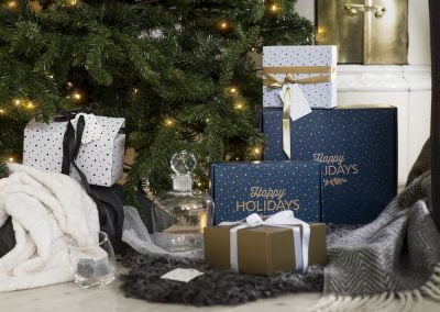 Julklappar från Sagaform till anställda under granen