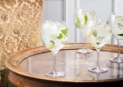 Orrefors till anställda Gin och Tonic glas i julklapp