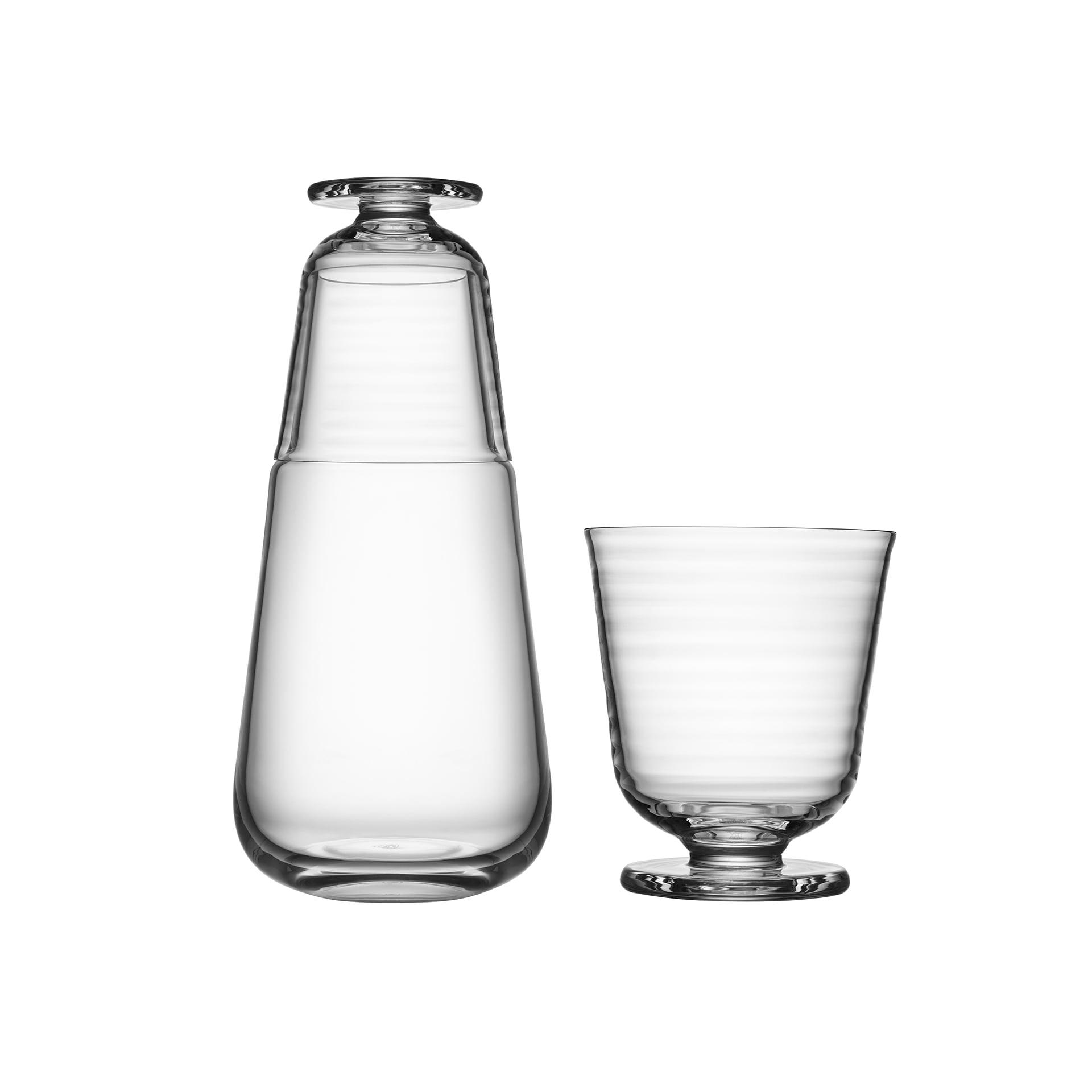 Kosta Boda Viva karaff med litet glas